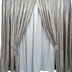 Luxury Jacquard Curtain Set 3