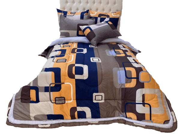 5 Piece 200GSM Microfibre Comforter Set9