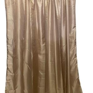 Lined Tafetta Curtain Beige