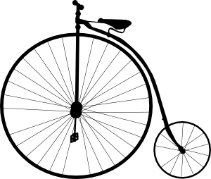 penny farthing small