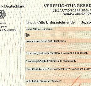 sample invitation letter in german