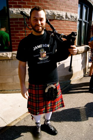 Kilt and Pipes