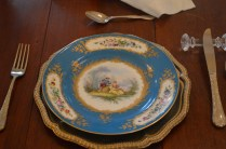 Vintage Dinner Plates