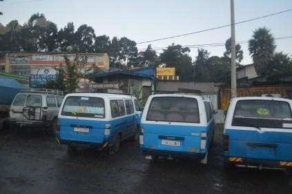 Matatu life in Addis Ababa