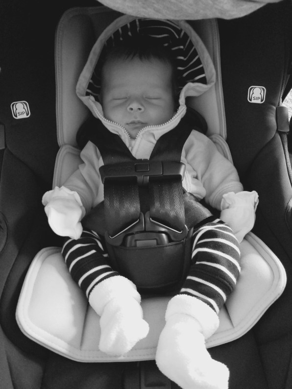 Heading to his 2 week Cardiologist check-up