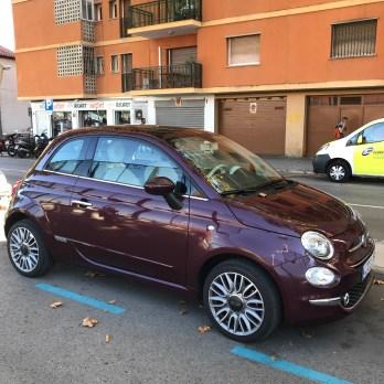 Fiat 500--Spain