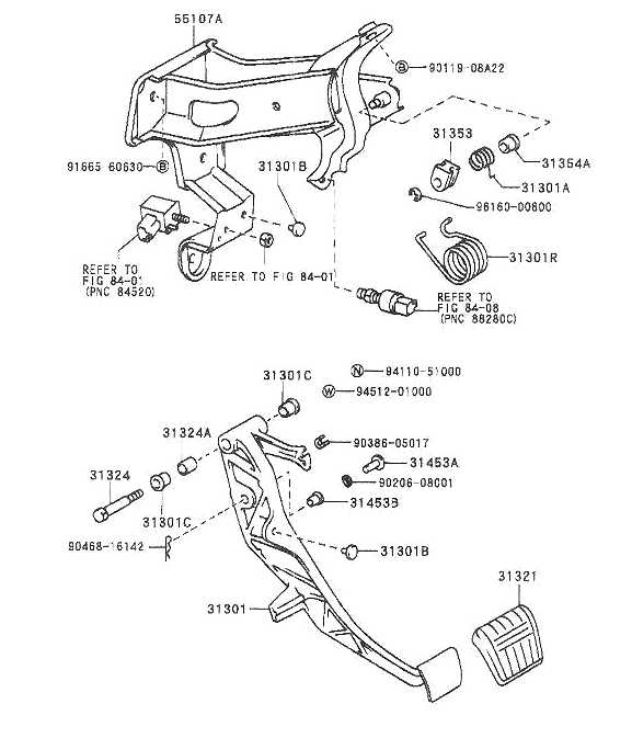 Clutch Pedal, Brake Pedal and other in Cabin Options