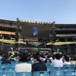 B'z LIVE-GYM Pleasure 2018 -HINOTORI-@日産スタジアム。
