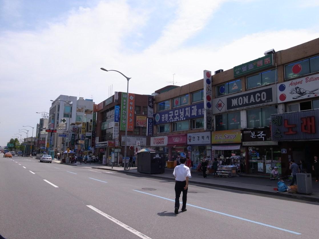 松亭(송정)の街並み