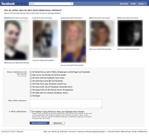 facebook-deaktivieren