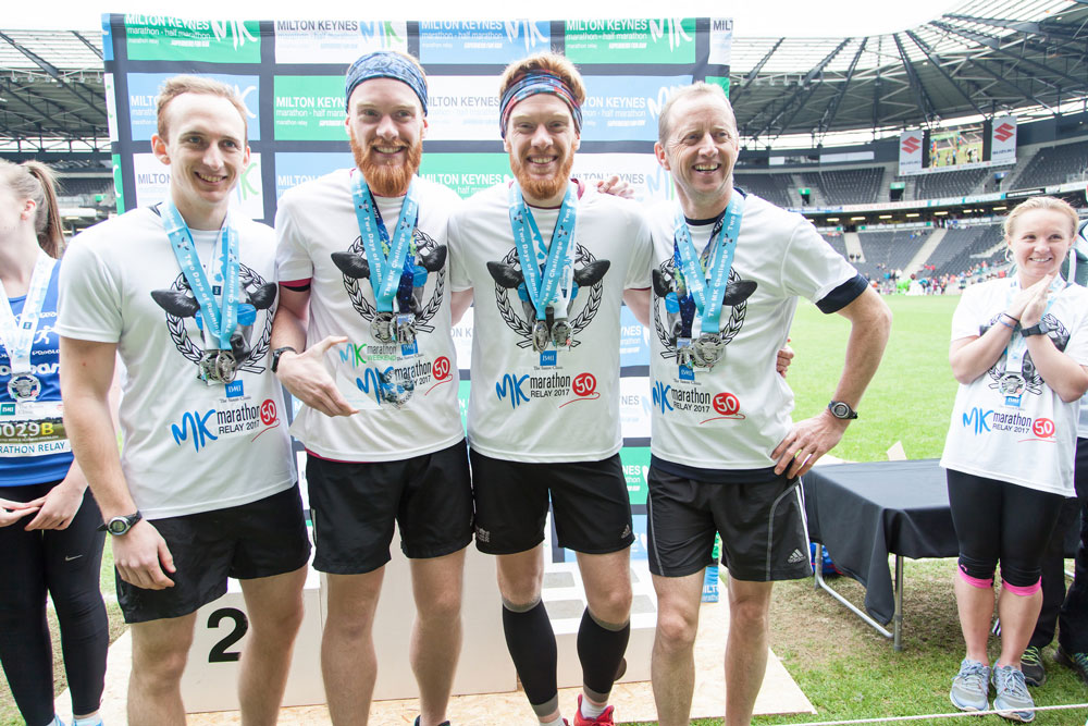 MK Marathon Relay Winners 2017