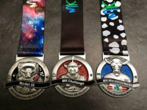 MK Marathon Weekend Rockat, Relay and Challenge Medal