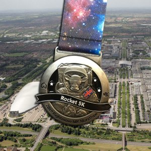 Rightmove MK Rocket 5k Medal 2019