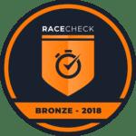 MK Marathon Weekend wins the Racecheck Bronze Award 2018