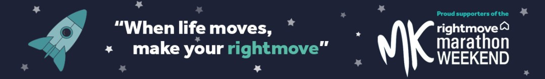 Rightmove sponsors the MK Rocket 5K