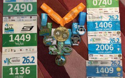 Meet Huw Jones, preparing to run his eighth MK Marathon!
