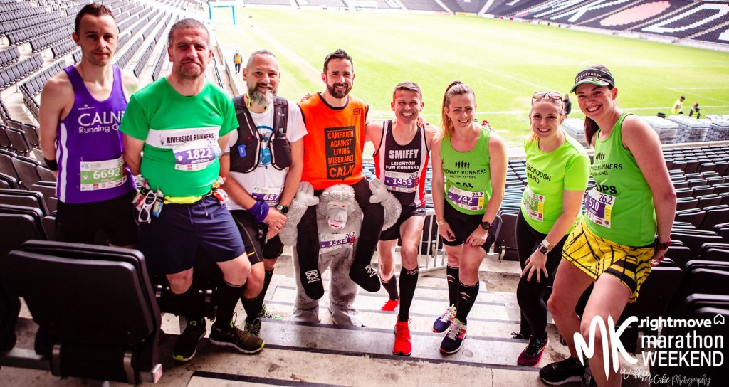 Some of the MK Marathon Ambassadors 2019