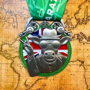 Rightmove MK Half Marathon - VE 75th Anniversary Themed Medal