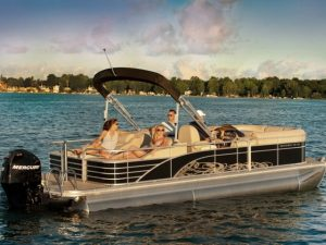 2013 Bennington pontoon for rent Torch Lake Michigan