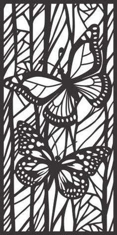 Butterfly Room Divider Panel, Screen, Partitions, Wall Hanging, Laser, CNC, Plaxma, Cricut Cutting file cdr, svg, dxf, eps, jpg