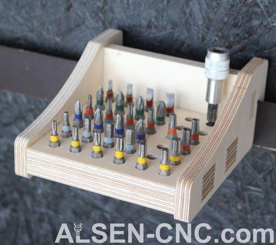 Französische Klampe  Handwerkzeughalter  ALSEN-CNC   Selber machen #woodworking...