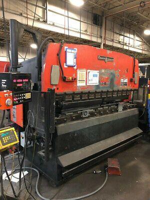 (Sponsored)(eBay) Amada RG125 125 ton x 10' CNC Hydraulic Press Brake NC9EX