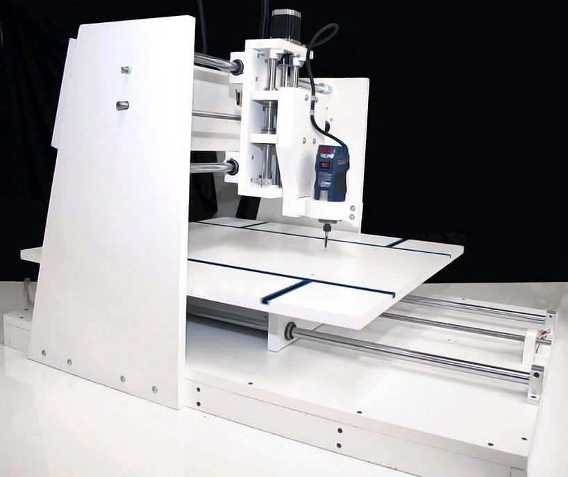 innovation squared engineers a CNC machine for everyone