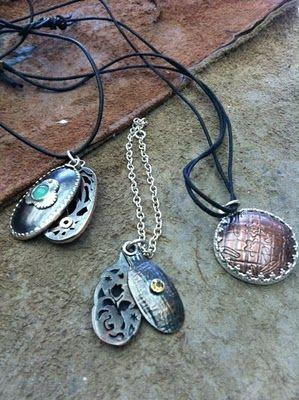 Betty McKim Jewelry: Hydraulic Press Project