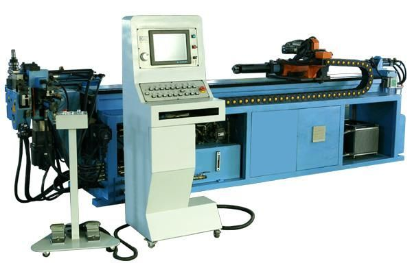CNC Pipe Bending Machine with Push Bending and Pipe Cutting Stainless steel pipe bending machine