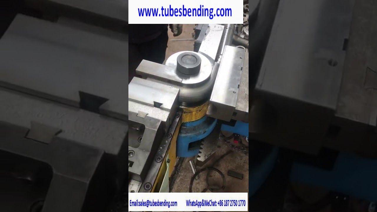 Heavy Duty Hydraulic Tube Bending Machine No burr No deformation