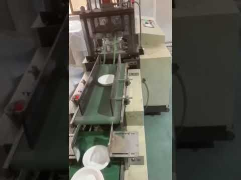 Hydraulic press paper plate machine making round deep bowl ,single die bowl making machine