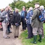Pineham Field Trip 11Aug15 - Martin Kincaid's introductory talk.
