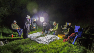 MKNHS members mothing at Linford Lakes NR by Julie Lane9 July2016