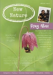 New Nature magazine April 2018