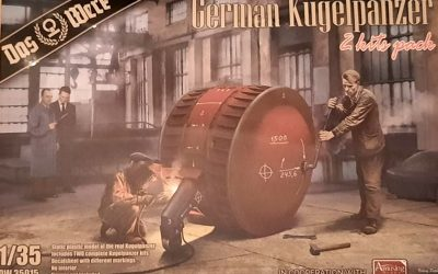 1: 35 German Kugelpanzer (2 Kits Pack) Das Werk DW35015
