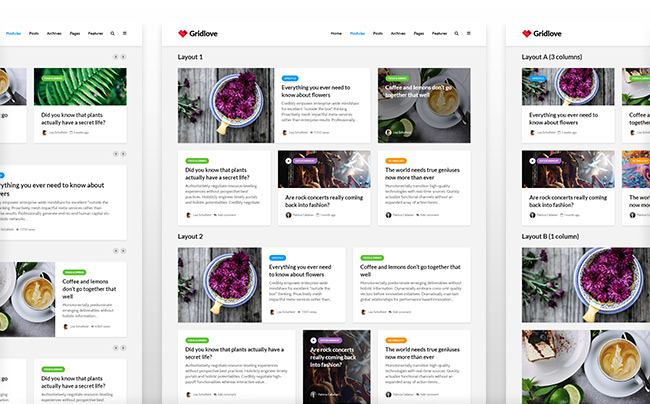 Free Download GridLove Theme WordPress Full Version