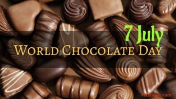 World Chocolate Day 2020 Wishes Images for Status | 7July