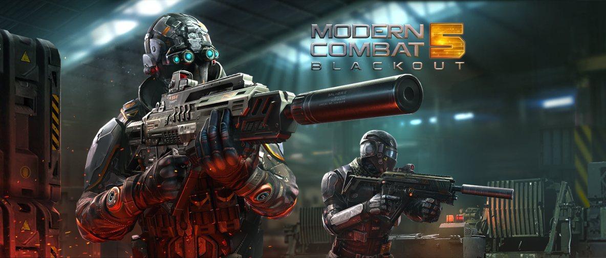 Resultado de imagen para Modern Combat 5 Blackout:
