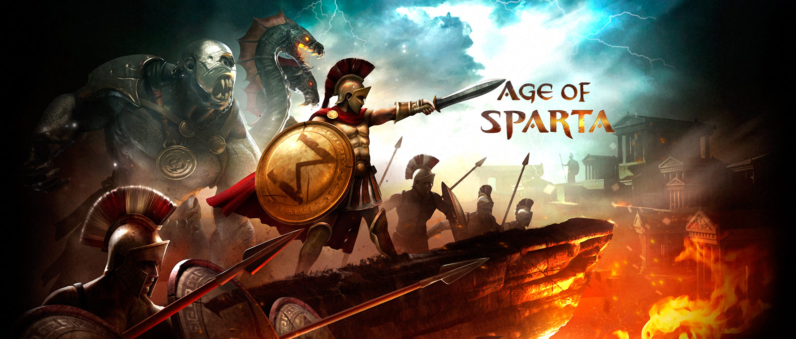 Age Of Empires Wallpaper Hd Gameloft Age Of Sparta