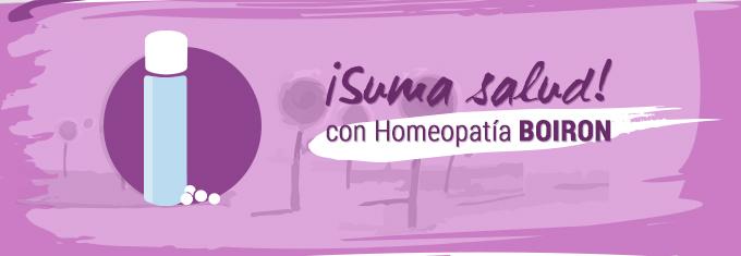 Suma Salud con Homeopatía BOIRON