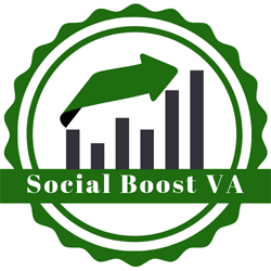 Logo: Social Boost Virtual Assistance