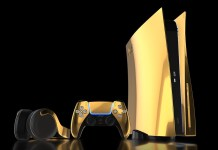 PS5 kuldne