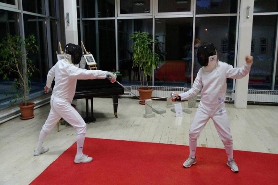 Prezentacija mačevanja Centar za mlade Grbavica