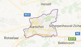 Kaart luchthavenvervoer in Aarschot