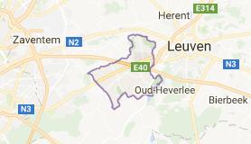 Kaart luchthavenvervoer in Bertem