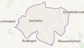 Kaart luchthavenvervoer in Geetbets