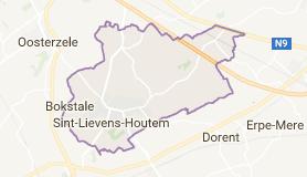 Kaart luchthavenvervoer in Sint-Lievens-Houtem