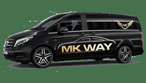 luchthavenvervoer taxi van Izegem