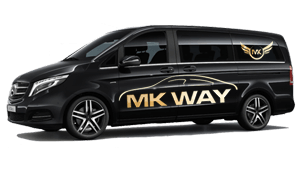 luchthavenvervoer taxi van Menen