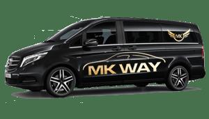 luchthavenvervoer taxi van Mesen